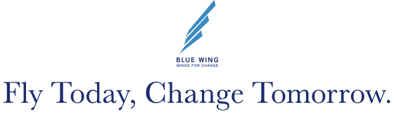 BLUE WING -WINGS FOR CHANGE- 「Fly Today, Change Tomorrow」