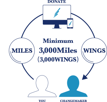 Minimum 3,000Miles(3,000WINGS)